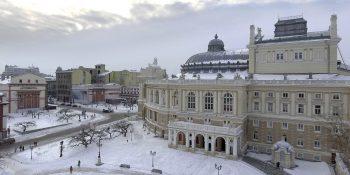 Курортный сезон в Одессе- зима или лето?