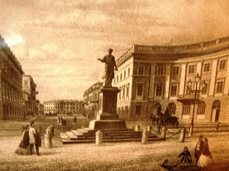 Дюк де Ришелье - первый градоначальник Одессы