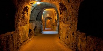 History of the Odessa catacombs